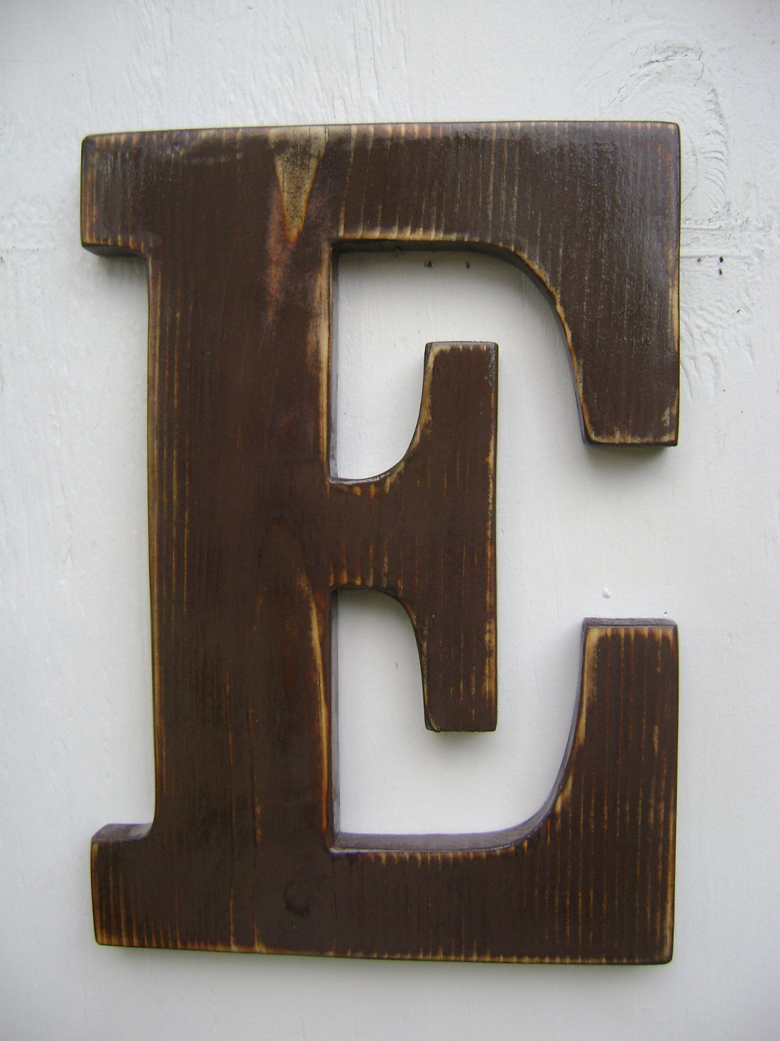 wooden letter d wall sign rustic wooden letters decor 12 quot 3 4 quot thick 25673